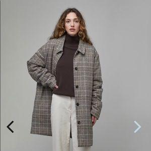 Jackets & Blazers - Oak & Fort Plaid Coat
